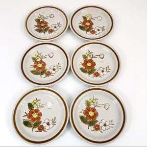 Mountain Wood Collection Trellis Blossom Plates